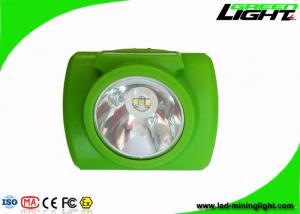 China 6.4Ah Digital Mining Cap Lamp , Super Bright 13000 Lux Miner Helmet Light with High Low Beam on sale