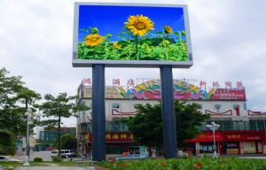 China IP65 Waterproof OOutdoor Full Color LED Display Aluminum Cabinet High Resolution on sale