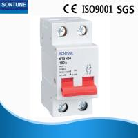 China Two Pole Din Rail Circuit Breaker , Short Circuit Low Voltage Circuit Breaker  on sale