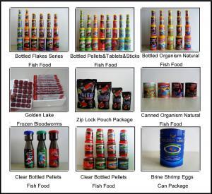 China Fish Food Pet Food Pellets&Flakes Fish Food on sale