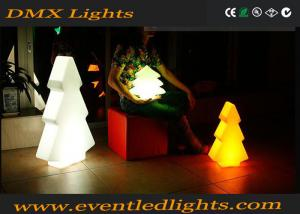 China Waterproof outdoor christmas Led Pillar Lights snow shaped plastic material on sale