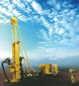 China Hydraulic Underground Portable Drilling Rig With 65KN Drill Head CKD600C on sale
