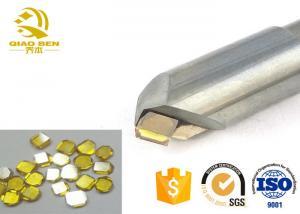 China CNC Monocrystalline Diamond Cutting Tools Single Crystal MCD Jewellery Cutting Tools on sale