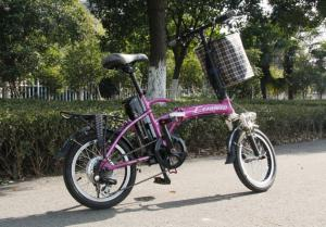 China 16 Inch 36V 250W Step Through Electric Bikes Mini Foldable for Kids / Student EN15194 on sale
