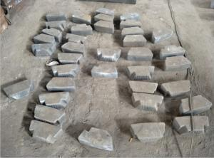 Quality Chrome-Moly Steel De Filler Block C0.8-0.9 for cement mill and mine mill for sale