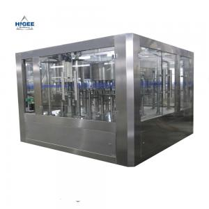 China Electric Driven Automatic Mineral Water Bottle Filling Machine1000BPH Capacity on sale
