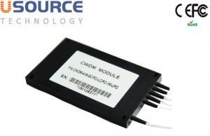 Quality 4ch 8ch Crosslinking Bidirectional 1470-1610nm CWDM Mux Demux Module for sale