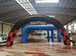 PVC tarpaulin Advertising Start Finish Arch Inflatable Racing Archway for Running Sports Marathon