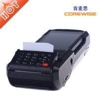 handheld wireless POS terminal with fingerprintscanner,rfid reader,printer,etc.