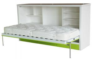 quality mdf fold away horizontal wall beds single hotel extra bed for sale