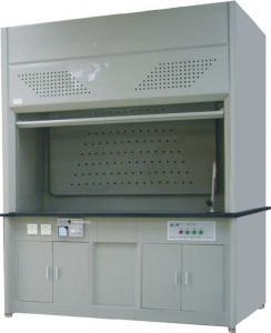 China FRP Acid Lab Fume Hood Ventilation System 6mm Tempered Glass Window on sale