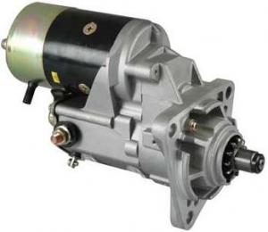 China Low Noise Denso Starter Motor Fit Hitachi Excavator W/ Isuzu 6bd1 , 6bg1 Engines 18100 on sale