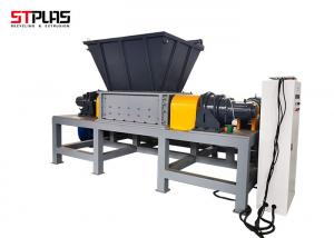 China Compact Two Shaft Plastic 90kw Rubber Tire Shredder on sale