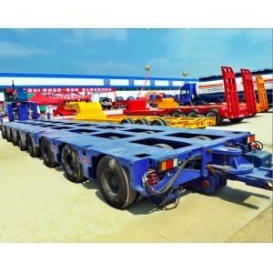 China 100-300 tons Bridge Beam Transporting modular multi axle trailer, Multi Axle Low Bed Heavy Duty Semi Trailer on sale