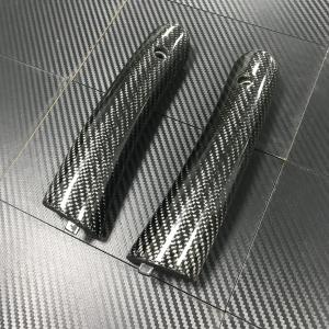 China Laminated Custom Carbon Fiber Parts Steel 3K  Carbon Fiber Door Handles on sale