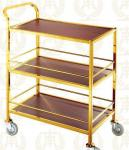 3 Layers Service Trolley Oblong Room Service Equipments 880*465*940mm
