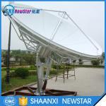 3.7m c or ku band Rx/Tx ring focus earth station satellite communication antenna