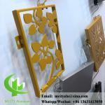 Laser cut metal sheet aluminum cladding and facade pvdf ppg paint