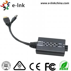 China OM3 HDMI Over Fiber Optic Extender , Multimode Fiber Hdmi To Optical Cable Converter Box on sale