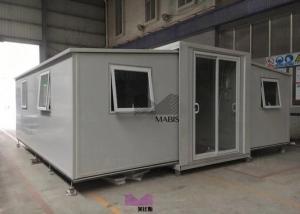 China Long Lifetime Anti Wind Prefab Modern Farmhouse Luxury Style 2 Bedrooms Type on sale