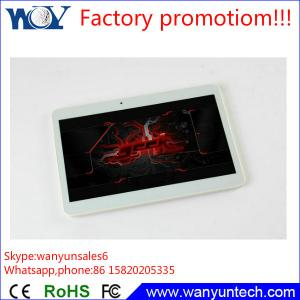 China Cheap Android phone 10.1 inch Phablet build in 2G calling function on sale