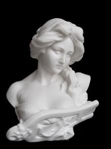 China Porcelain Music Women-Porcelain Statues on sale