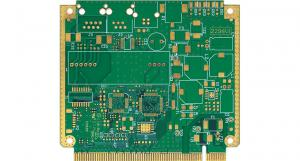 China Security Surveillance Device Multilayer PCB Board OSP V0 60 * 37 Mm 10-layer PCB with Blind Via and Gold Fingers on sale