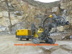 China Atlas Copco Crawler Drilling Machine , Hydraulic DCT System AirROC D45 SH DTH Boring Machine on sale