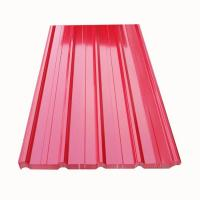 China Galvanized Ppgi Ppgl Corrugated Steel Roofing Sheets on sale