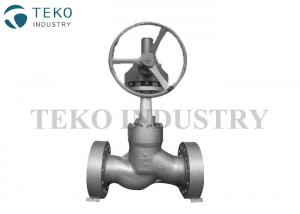 China BW End Flanged End High Pressure Globe Valve For High Temperature Conditions on sale