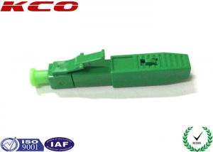 China Home Fiber Optic Cable Lc Connector Quick Assembly Single Mode Green Color on sale
