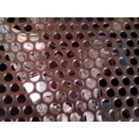 China Stainless steel Round hole Perforated Metal Sheet/ Perforated Metal Mesh on sale