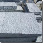 Pavimentando do pedra das paliçadas e de Granito