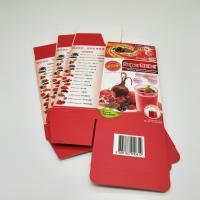 Food Grade Color Paper Box Glossy Lamination / Matt Lamination Printing