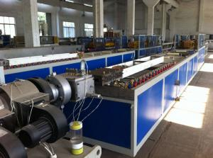 China PVC / WPC Wood Plastic Extrusion Line For PVC Foamed Profile on sale