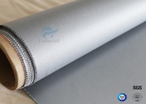 China 260℃ Heat Resistant 160g Two Sides Coating 0.5mm Silicone Coated Fiberglass Fabric on sale