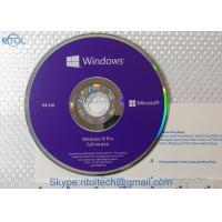 Windows 10 64 Bit Pro Product Key Code License Sticker / Key Card / OEM Pack / Retail Box