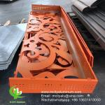 3mm Aluminum perforated facade decorative panel for curtain wall facade cladding wall panel perforated screen