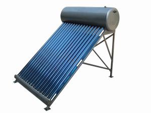 China Home applicative compact non-pressurized solar hot water with evacuated tube on sale