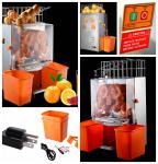 A máquina alaranjada comercial saudável e fresca 120W do Juicer com metal alinha