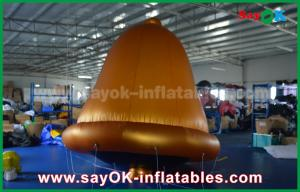 China So Cool Customized PVC High Quality Helium Bells Inflatable Model For Advertising on sale
