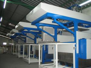 China Energy Saving Molded Pulp Packaging Machinery With Eco - Friendly Waster Paper on sale