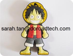 China New Cartoon USB Flash Drives (PVC Case) on sale