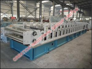 China Two in One Double Aluminium Long Span and Steptiles Roofing Sheet Rollformer Machine on sale