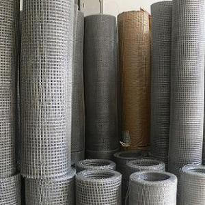 China Galvanized Mine Sieving Mesh Stainless Steel Square Wire Mesh PVC Coated on sale
