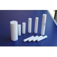 Fiber Glass Ptfe Teflon Rod / Bar Stock , White Molded Rod , ISO9001 Certificate