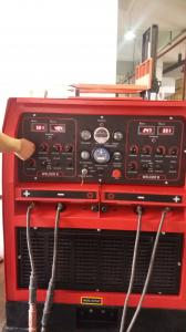 China WD1000 Engine Driven Welding Machine With 500A x 2 Dual Welding Positions on sale