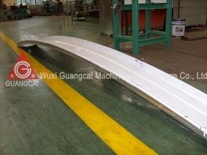 China Arch Sheet K Span Roll Forming Machine , Curve Roof Forming Equipment on sale