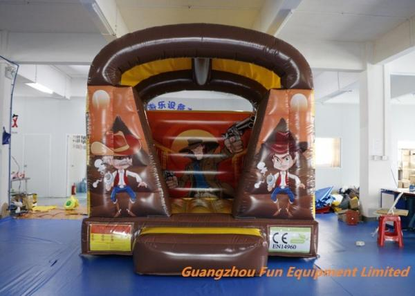 Air Fun City West Wild Shoot Out Inflatable Bouncy Castle 3