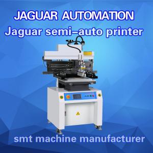 China SMT Stencil Printing Machine PCB Solder Paste Printer Semi-automatic Condition on sale